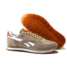 Reebok CL Leather Suede беж